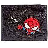 Marvel Spider-Man Cartoon Web Sling Nero portafoglio