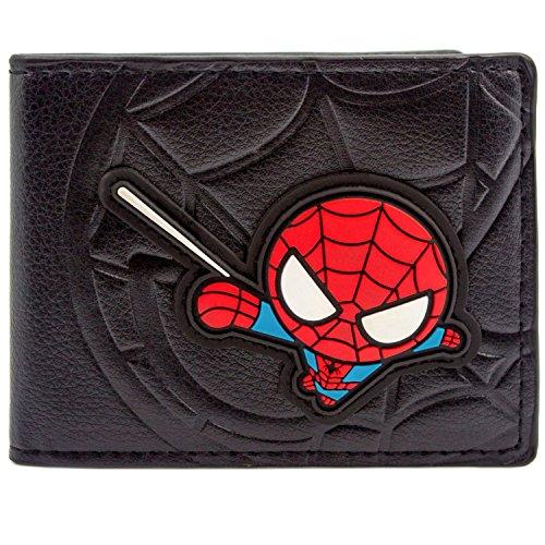 rtoon-Netz-Sling Schwarz Portemonnaie Geldbörse (The Amazing Spider Man Ps3 Kostüme)