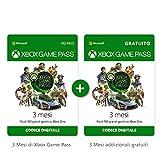 Abbonamento Xbox Game Pass - 3 Mesi + 3 Mesi Gratuito  Xbox Live - Codice download