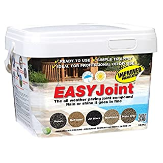 Easy Joint Mushroom 12.5 Kg *20 tubs* paving jointing compound grout Azpects