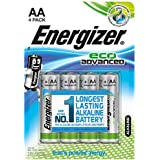 Energizer LR6 AA Mignon Eco Advanced Battery (Pack Of 4)