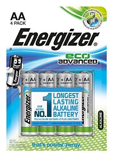 Galleria fotografica Energizer E300130700 Alkaline 1.5V non-rechargeable battery - Non-Rechargeable Batteries (Alkaline, Cylindrical, 1.5 V, 4 pc(s), AA, Blue, Green, Silver)