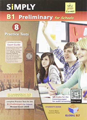 SIMPLY B1 PRELIMINARY FOR SCHOOLS 2020