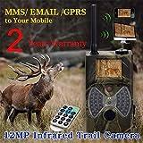 KLEDDP Wildkamera HC-300M12MP HD Pixel Infrarot Automatische MMS Fernbedienung Wildlife Trail Scout Kamera Wildkamera