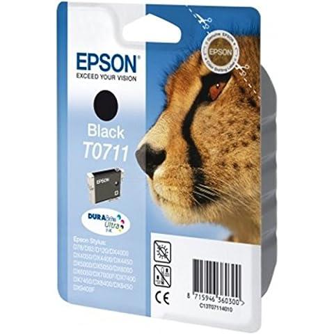 Epson original - Epson Stylus DX 8450 (T0711 / C13T07114022) - Tintenpatrone schwarz - 245 Seiten -