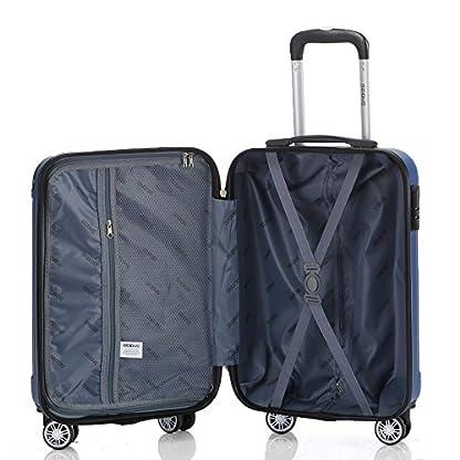 BEIBYE – Juego de maletas  Azul azul Set