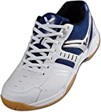 VICTOR V-300 Indoor Sportschuh / Badmintonschuh / Hallenschuh, Blau/Weiß, Größe 43