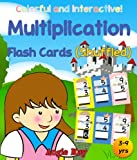 Multiplication flash cards in shuffled (Math flash cards) (Wonderful Mathematics Series) (English Edition)