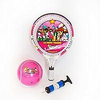 Le Petit Tennis - Racchetta da 39 cm + pallina gonfiabile da 15 cm, per bambini da 1 a 2 anni, colore: rosa