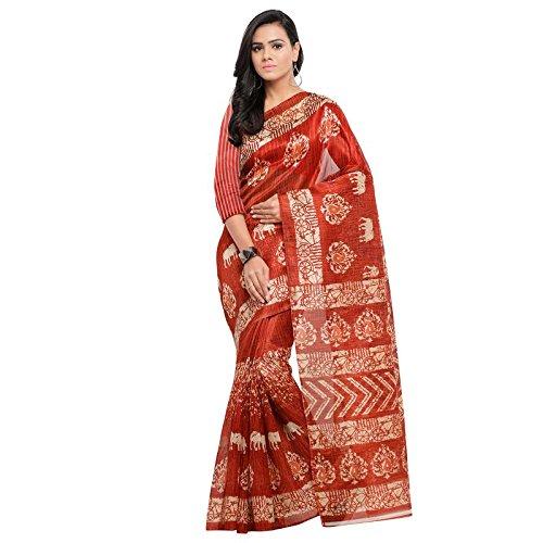 Samskruti Sarees Multicolor Khadi Silk Designer saree,000494