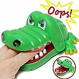 Großes Krokodil Biss Finger Spielzeug, Kingnew Mund Zahnarzt Biss Finger Familie Spiel Kinder Kinder Action Geschicklichkeit