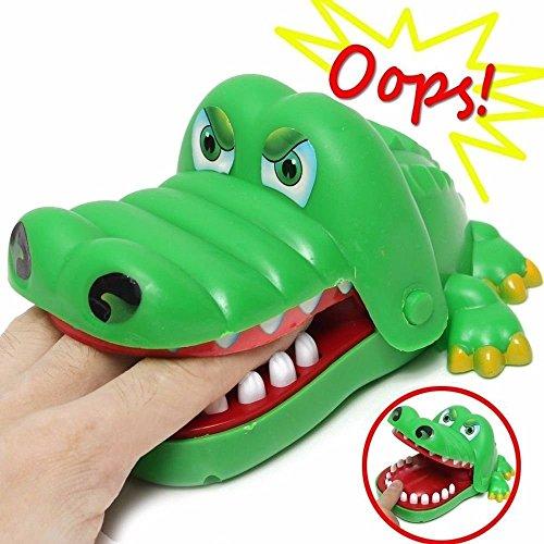 Preisvergleich Produktbild Großes Krokodil-kingnew Zahnarzt Spiel mit Finger-Spielzeug mit Geschenk für Kinder.