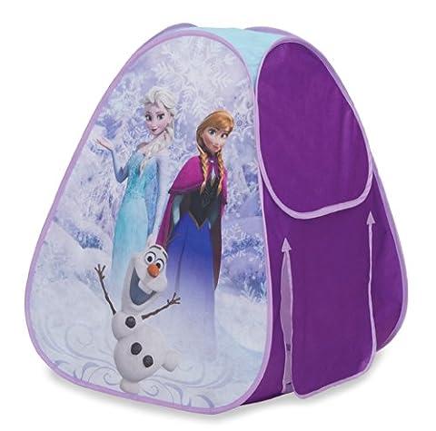 Disney Frozen Classic Hideaway - Kids Roleplay - Princess Anna + Elsa Pop Up Play Tent