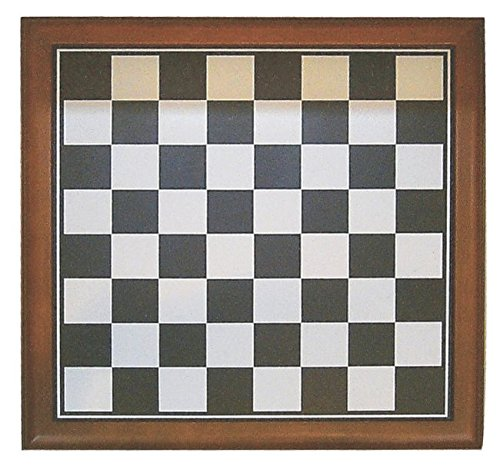 Hochwertiges Schachbrett rotbraunes Holz Schach