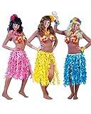 Hawaii Rock Maui Damen Einheitsgröße blau Sommer Urlaub Strand Motto Party Kostüm Karneval Fasching Pierro's