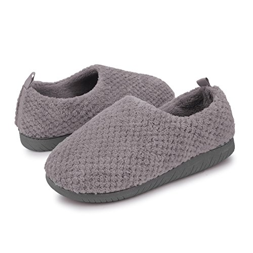 JIASUQI Classic Otoño Invierno Pieles Interiores Tobogán Tobilleras Deslizamiento de Peso Ligero EN Los Zapatos Púrpura EU 39-40