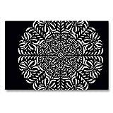 Calvendo - Tela per proiezioni in Tessuto, 90 x 60 cm, Motivo: Mandala dal Calendario, per Rilassarsi e riposare