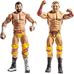WWE - Pack de 2 figuras básicas con accesorio Shawn Michaels / Diesel (Mattel DXG44)