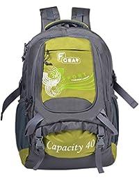 F Gear Firefly V2 Laptop Rucksack 40 Liters (Grey, Green)