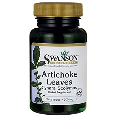Swanson Artichoke Leaves Cynara Scolymus (500mg, 60 Capsules) from Swanson Health Products