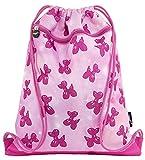 Fringoo Kids Drawstring with Front Zipped Pocket Pe Kit Bag School Backpack, 42 cm