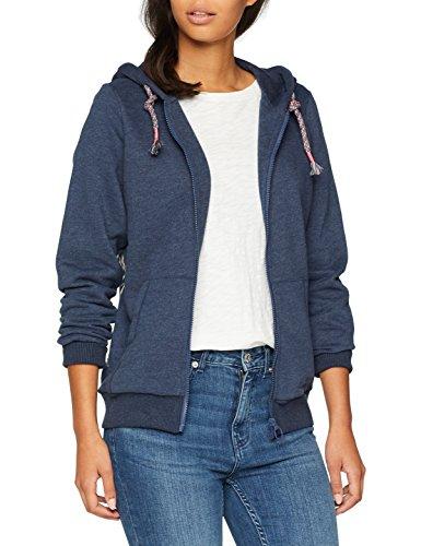 Chiemsee Damen Odetta Hooded Sweatjacket, Dress Blue Mela, XL