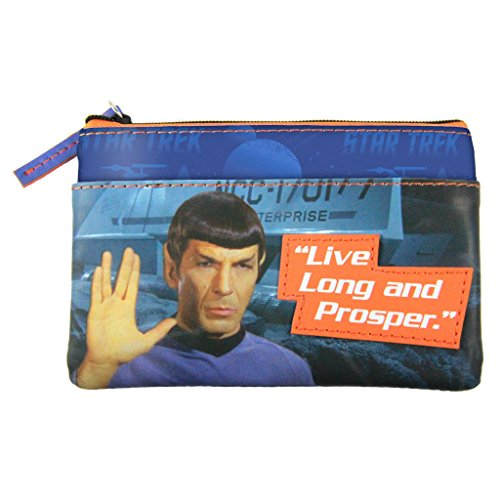 Star Trek - Geldbörse - Captain Spock - Live long and Prosper