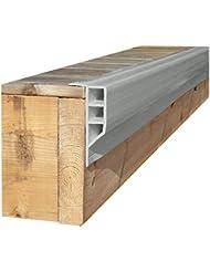 Dock Edge + Standard - Defensas para muelles de amarre, color gris, talla 16 ft