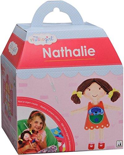 Piatnik 311232 - My Studio Girl - Nathalie, Kinder-Bastelset (Puppe Nähen)