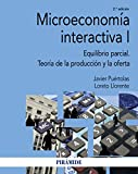 Microeconomía interactiva I: Equilibrio parcial. Teoría de la producción y la oferta (Econom...