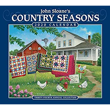 John Sloane's Country Seasons Deluxe 2020 Calendar