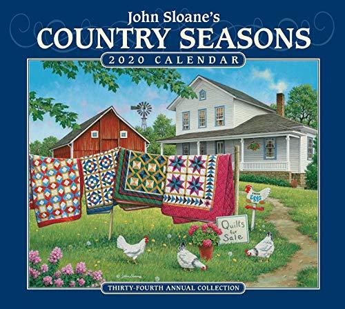 John Sloane's Country Seasons Deluxe 2020 Calendar par John Sloane