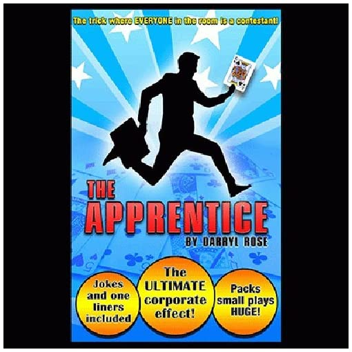 The-Apprentice-by-Darryl-Rose-Mentalmagie-Zaubertricks-und-props