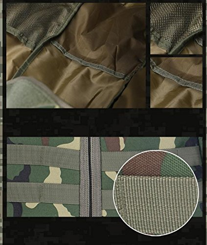 HCLHWYDHCLHWYD-Außensportplatz Reiten Rucksack Tasche Rucksack Multifunktions-taktischer Angriffs-Rucksack mit großer Kapazität 3