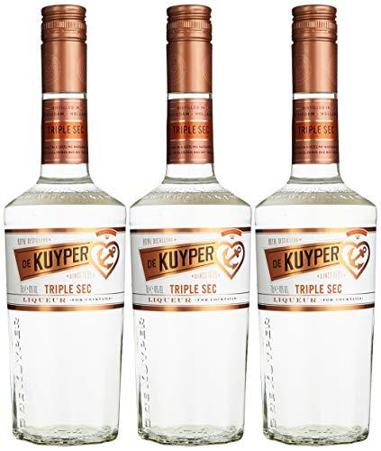 De Kuyper Triple Sec Likör (3 x 0.7 l) - Sec Triple Sirup