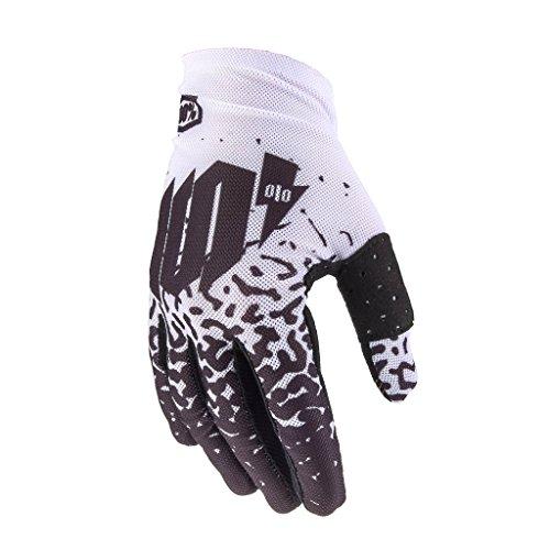 100% celium MTB Handschuh Unisex Erwachsene, Metall/weiß (Downhill-mountain-bike-bremsen)