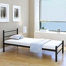 Metallbett silber 90x200  Suchergebnis auf Amazon.de für: metallbett 90x200
