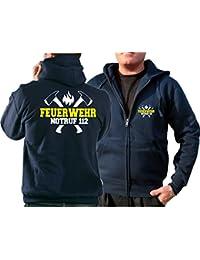 feuer1 T-Shirt Rescue 2/ /Pompiers avec Fire Fighting Bulldog/ /New York /Brooklyn/