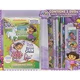 Pack: Dora, La Exploradora: Las Aventuras De Dora En El Bosque Encantado + Dora Salva Al Reino De Cristal