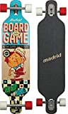 "Madrid Dream Board Game 39"" Drop-Thru Longboard, Zoll"