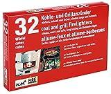 32 Anzünder für Grill, Kamin und Kohle aus Kerosin KM Firemaker Art. 200