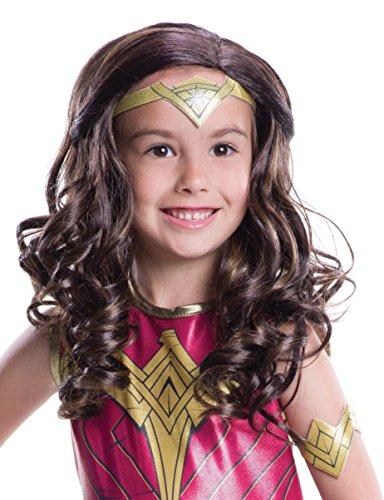 Wonder Woman Movie Child Costume Wig
