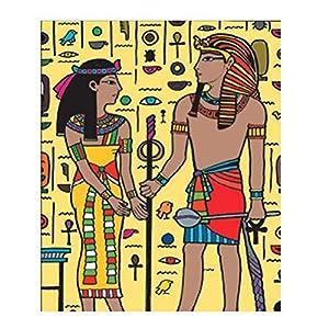 Colorvelvet 37x 28cm los egipcios Sistema de Dibujo para Colorear (tamaño Mediano