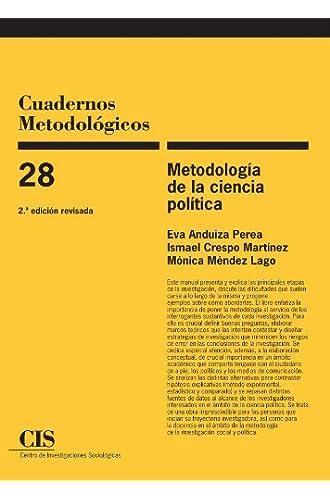 Metodología De La Ciencia Política, 2ª Ed: 28