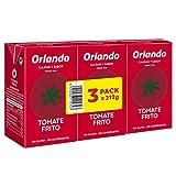 Orlando Tomate Frito Clásico - Pack de 3 x 210 g - Total : 630 g