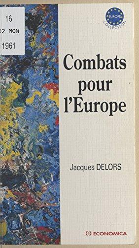 Livre gratuits en ligne Combats pour l'Europe pdf