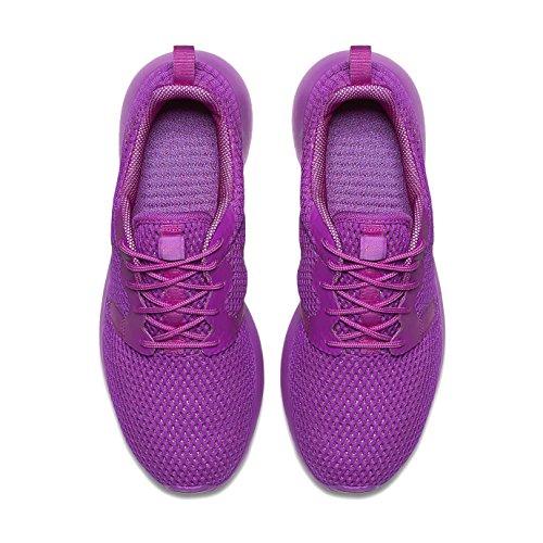 Nike W Roshe One Hyp Br, Baskets Basses Femme, Bleu, 36,5 EU Morado (Hyper Violet / Hyper Violet-Vl)