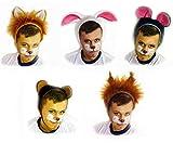 Faschingskostüm Eichhörnchen Mütze mit Ohren Kappe Hut Eichhörnchen Karneval Kostüme für Kinder älter als 9 Jahre, Herren Männer Frauen Festtage Größe L / XL Geschenk -