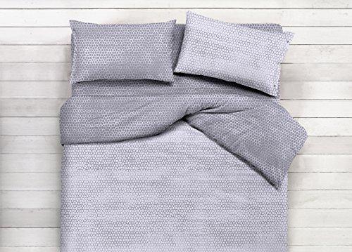 copritrapunta en 100% coton modèle Bon Bon Singolo gris