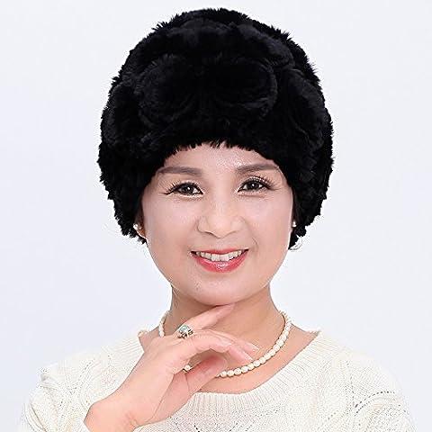 Dngy*Cappelli inverno bambini inverno pelliccia di marea